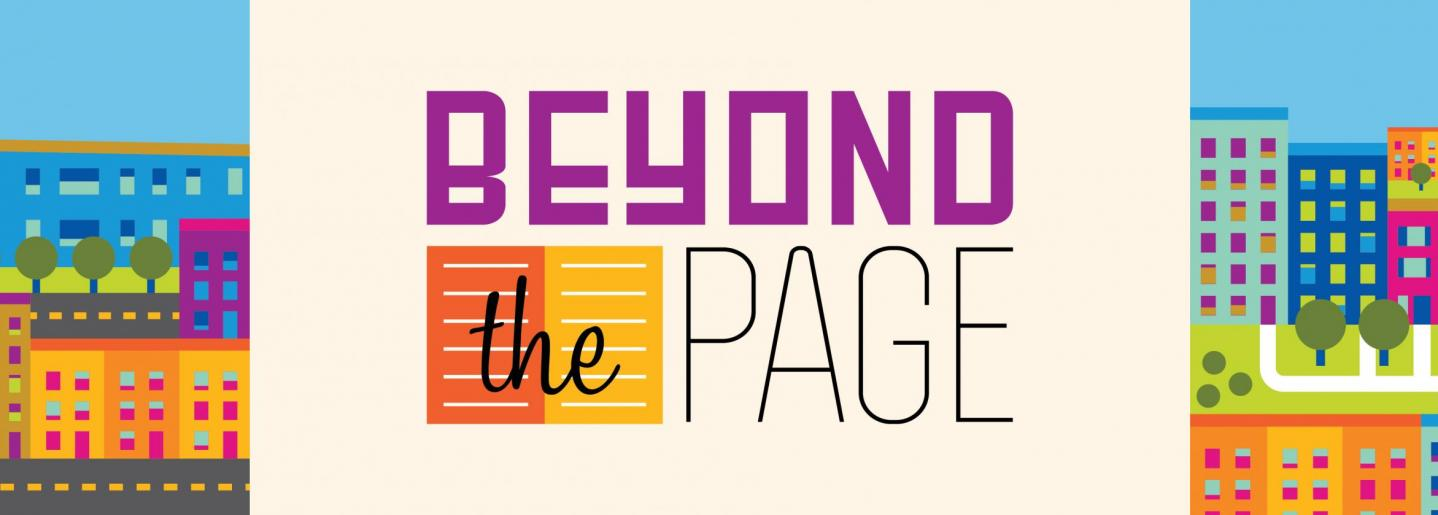 beyond the page banner