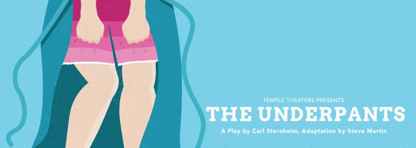 Poster art for THE UNDERPANTS
