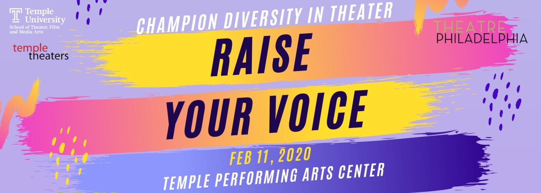 Raise your voice - image