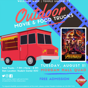 Outdoor Movie and Food Truck poster