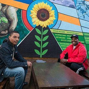 Mural on Bouvier St.