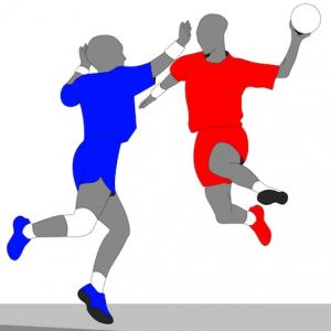 team handball players