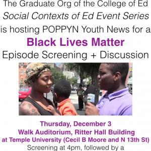 Black Lives Matter Episode + Discussion