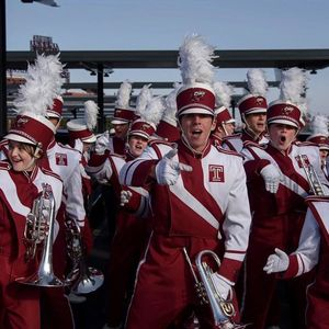 Diamond Marching Band members performing