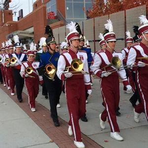 Diamond Marching Band walking