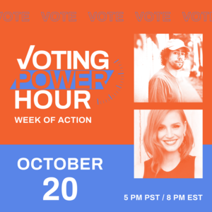 Voting Power Hour with Ramy Youssef and Jessica Chastain
