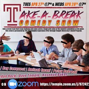 Take-a-break flyer