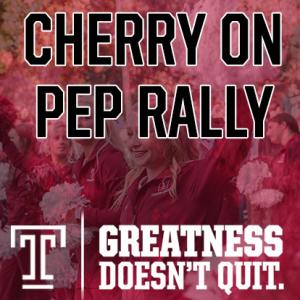 Cherry On Pep Rally
