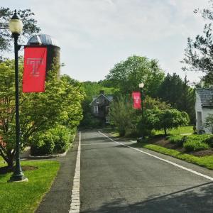 Take a walk at Temple University Ambler.