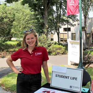 Students get involved in Student Life at Temple Ambler
