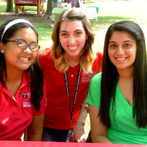 Students are introduced to campus during Ambler Campus Transfer and Evening Student Welcome.