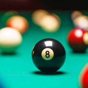8 Ball Tournament at Temple University Ambler.