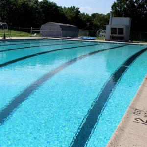 Outdoor Pool at Temple University Ambler