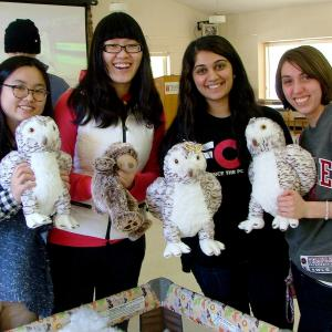 Students build a buddy at Temple University Ambler