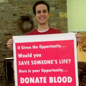 Give blood at the Ambler Campus Spring Blood Drive.