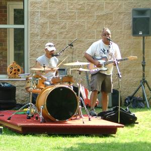 A band performs at the Upper Dublin Concert Series at Temple University Ambler.