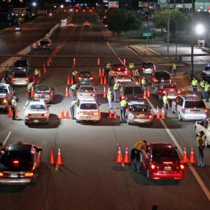 Operation Safe Holiday DUI Checkpoint Enforcement