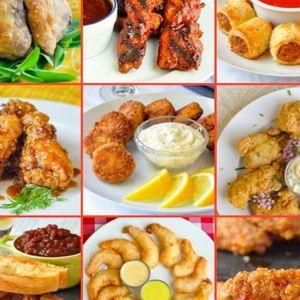 Socialize over everyone's favorite comfort food - finger food!