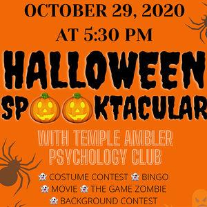 Psychology Club Halloween Spooktacular