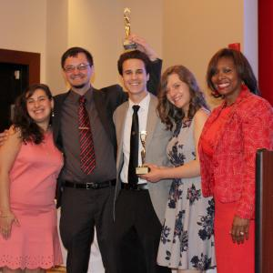 Students are honored at the Ambler Campus Student Leadership Awards Ceremony.