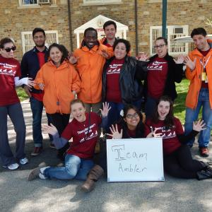 Temple University Amblers March of Dimes March for Babies team.