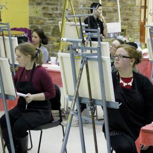Temple Ambler Campus Alumni paint for a purpose.