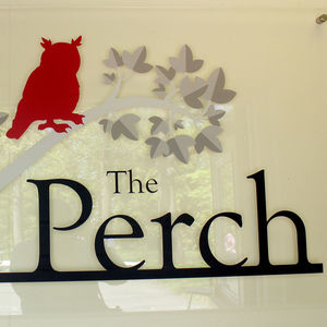 Hang out in our newest student lounge space, The Perch!