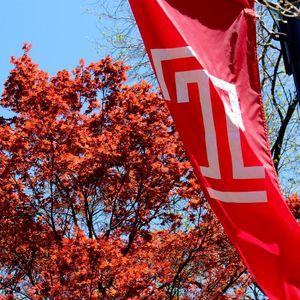 Fall colors at Temple University Ambler.