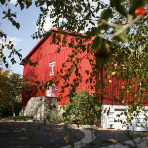 The Red Barn Gym at Temple University Ambler.