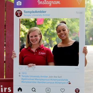 Students get involved at Temple University Ambler with the Ambler Campus Student Government Association.