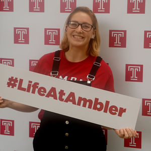 Students get involved at Temple University Ambler with the Ambler Campus Student Life Board.