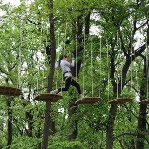 American Society of Landscape Architects and Pi Alpha Xi Treetop Quest Trip.