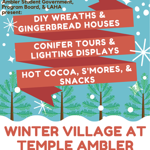 Winter Village at Temple Ambler - November 30