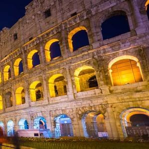 The Colosseum or Coliseum, also known as the Flavian Amphitheatre, is an oval amphitheatre in the centre of the city of Rome, Italy.