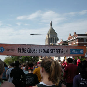 Broad Street Run Starting Location