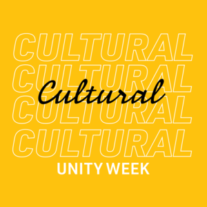 Cultural Unity Week Save the Date