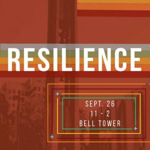 Flyer for TU Resilience Fair Sept 26 11am unitl 2pm