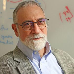 lecturer posing