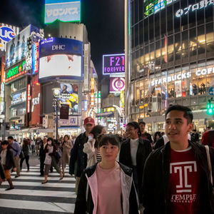 Temple students in Tokyo