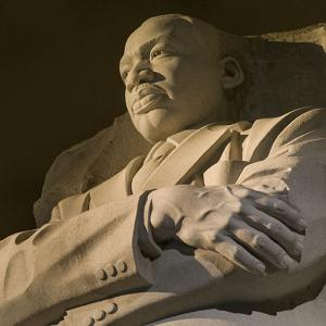 The MLK Monument.