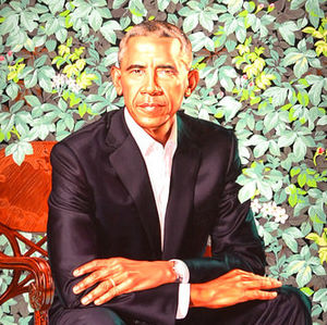 Pres. Obamas official portrait