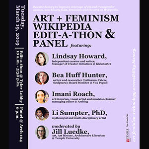 Art and Feminism Poster
