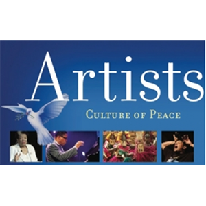 Logo for Artists, Culture of Peace