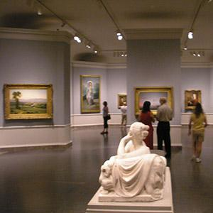 gallery view of art at National Gallery