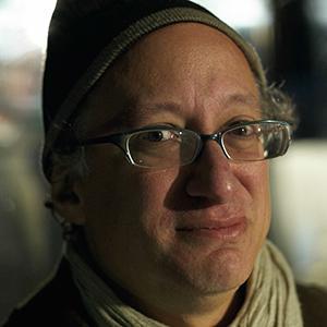 Barry Schwabsky photographed by Mathias Augustyniak Poetry Marathon, Serpentine Gallery, London, 2009 © M/M (Paris)