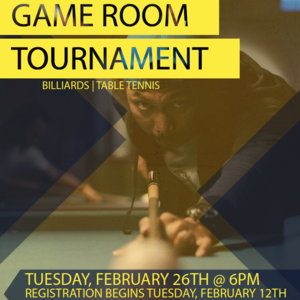Game Room Tournament