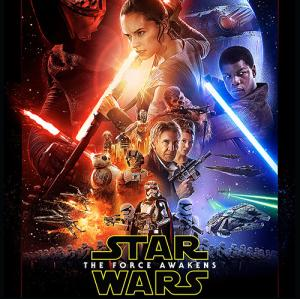 Star wars force awakens cover shot