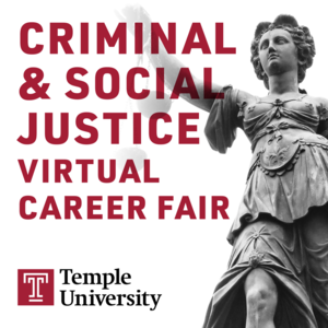criminal and social justice career fair