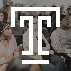 audience shot with Temple T logo