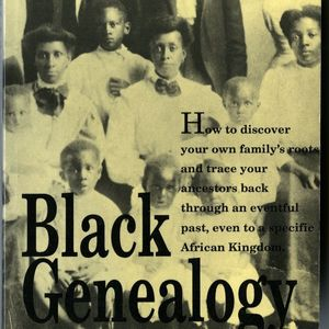 book cover of Black Geneology by Charles L. Blockson